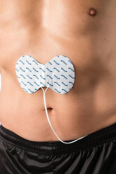 Spezial-Elektrode für die Bauchmuskulatur, 1 Stück