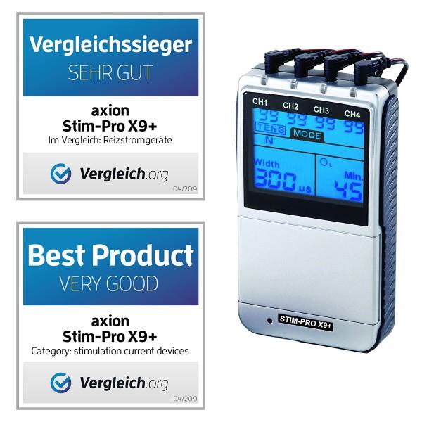 Électrostimulateur TENS/EMS ► STIM-PRO X9