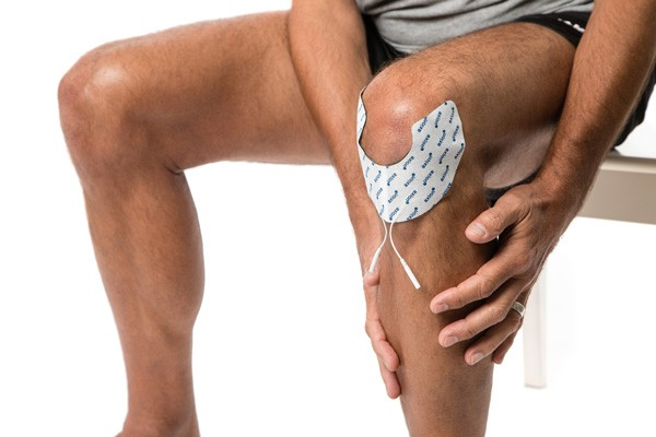 2 Special electrodes against knee pain