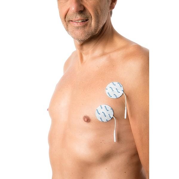 4 électrodes POLYVALENTES, Ø 50 mm