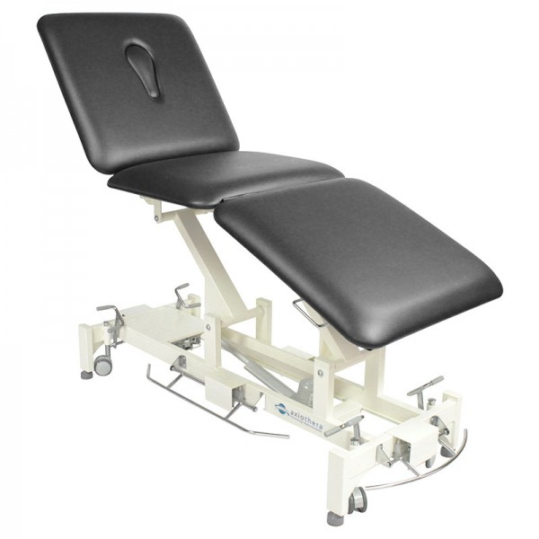 Electric therapy table, 3-part TRIO