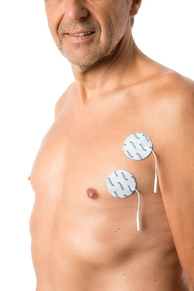 Elektroden (rund), Ø 5 cm - 4 Stück - axion