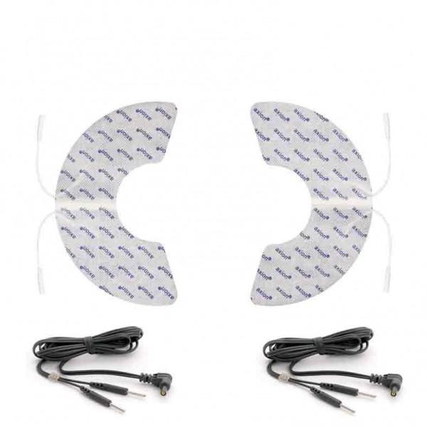 Electrodos especial de hombro - 2 piezas + cables